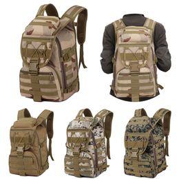 Styles Backpacks Australia - 4 Styles Camping Trekking Bag Outdoor Camo Mountaineering Bags 3p Military Tactical Backpack Breathable Waterproof Rucksacks Hiking Bag M40F