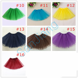 fashion tutu skirts for women NZ - Candy Color Women Girls Tutu Skirt Summer Gauzy TUTU Mini Skirts Above Knee Gauze Dress Party Dance Ballet Skirt for Adults Clothes E3610