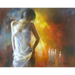 romantic figures NZ - Willem Haenraets paintings Romantic feeling hand painted figure painting canvas art High quality