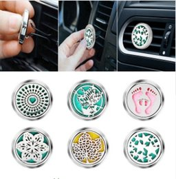 Perfume Wholesale Outlet NZ - Tree Car Perfume Air Freshener Auto Outlet Solid Fragrance Clip Car Air Vent Perfume Essential Oil Diffuse Car Smell