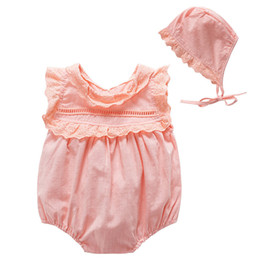 a5a4d0963a Baby Girl Bodysuit Set Body Bebe Ugi Baby Girl Onesie Newborn Cotton Ruffle  Girls Outfits Infant Sleeveless Jumpsuit Clothes