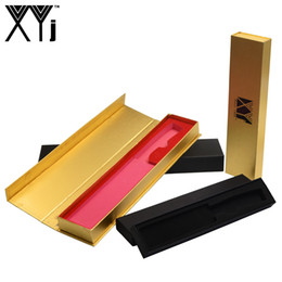 Wholesale XYj Gift Box Hard Paper Golden Black Knife Box Stainless Steel Kitchen Knife Best Gift Magnetic Clamshell Cooking Tools