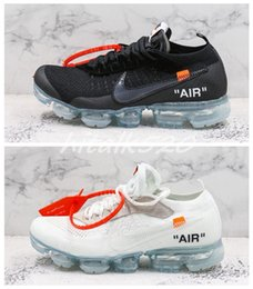 0aaedb70f92f1 Top Quality OFF Vapors 2.0 White Black Mens Running Shoes For Men Maxes  Sports Air Womens Designer Sneakers Chaussures Size 36-45