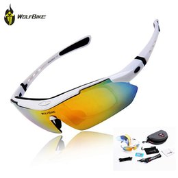 Wolfbike bicycle online shopping - WOLFBIKE Polarized Cycling Glasses Bicycle Running MTB Road Bike Fishing Eyewear Goggles Outdoor Cycling Sunglasses