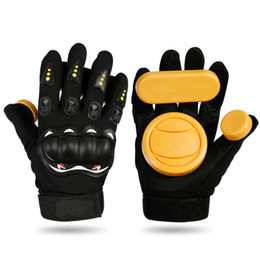 slide boards Canada - Skateboard Gloves Slide Gloves Longboard Safety Gear Friction With Protective Skate Accessories Downhill Skate Board