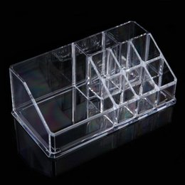 clear makeup drawers cosmetics Australia - New Clear Acrylic Makeup Organizer Drawer Jewelry Cosmetic Jewelry Organizer Drawer Box Case Stand Home Storage Boxes Organizer