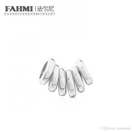 Spike Pack Australia - FAHMI 100% 925 Sterling Silver Silver Hold Ring Pack 711906510 Original Factory Direct Women's Jewelry Gift