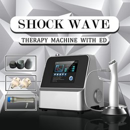 physical therapy massager NZ - ED physical therapy pain release shock wave knee pain massager machine New digital hand piece shock wave machine