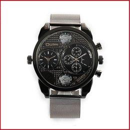 Neue coole Sport-Zwei-Wege-Legierung Mesh Gurtband Herrenuhr personalisierte Geschenk Armband Uhr kreative Accessoires