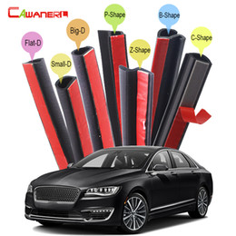 Sounds Kits Australia - Cawanerl Full Car Seal Sealing Strip Kit Sound Insulation Vehicle Seal Edge Trim Rubber Weatherstrip For Lincoln MKZ Zephyr