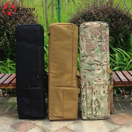 $enCountryForm.capitalKeyWord NZ - 100cm Tactical Hunting Backpack Dual Rifle Square Carry Bag with Shoulder Strap Gun Protection Case Backpack #234563