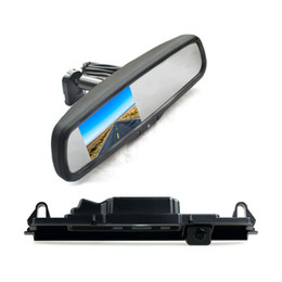 backup camera for toyota Australia - Rear View Reverse Car Backup Camera Replacement Mirror Monitor for Toyota Yaris Vitz Porte XP90 XP130