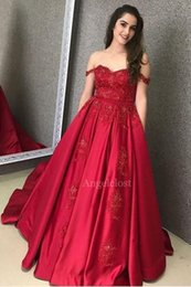 $enCountryForm.capitalKeyWord Australia - Off Shoulder Stain Evening Dresses 2019 Lace Bodies Strapless Backless Beaded Applique Formal Prom Celebrity Party Gowns Vestidos De Fiesta