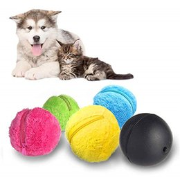 ball robot NZ - Automatic Rolling Ball Electric Robot Cleaner Pet Intelligence Toys for Dog Cat Mini Home Cleaning Tool Microfiber