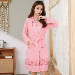 Ladies cotton nightdresses online shopping - 2019 Women Sleepwear Robe Sexy Femme Robe Gown Set Sleep Lounge Indoor Clothing Ladies cotton Nightwear Nightdress