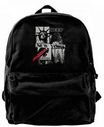 Chinese  New York buffalo Canvas Shoulder Backpack For Men & Women Teens College Travel Daypack Knapsack Laptop Designer bag manufacturers