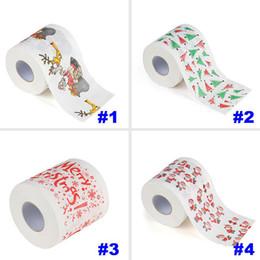 $enCountryForm.capitalKeyWord Australia - Christmas Pattern Toilet Paper Printing Roll Napkins Paper Fashion Funny Humour Gag Xmas Table Decoration Gifts 5 style