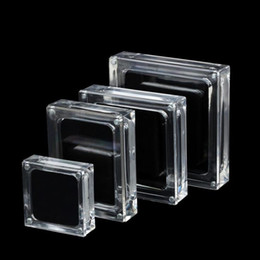 acrylic nail storage box Australia - Acrylic Box Clear Plastic Storage for DIY Tool Nail Art Jewelry Accessory beads stones Crafts case container F3215