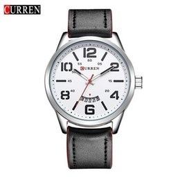 Men Thin Watches Sale Australia - Curren 8236 L For Sale Men Watch Top Mesh Band Watch Ultra Thin Dial Black Designer Quartz Wristwatch