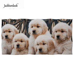 Towels For Dogs NZ - Jackherelook Labrador Dogs 3D Print Swimming Towels Super Absorbent Summer Beach Towel for Adults Quick-Drying Spa Sauna Towel