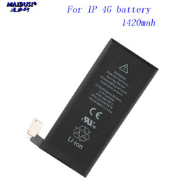 battery replacement for apple iphone 4s UK - NEW for iphone 4 4s 5 5s 5C SE 6 6s 7 battery Cell Phone Replacement Batteries high capacity