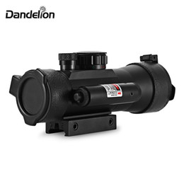 $enCountryForm.capitalKeyWord Australia - Dandelion 2 x 42 Outdoor Tactical Red Green Dot Laser Telescope Sight for 20MM Weaver Rail Bow