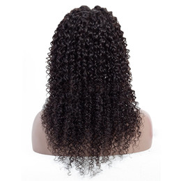 $enCountryForm.capitalKeyWord UK - Brazilian Virgin Kinky Curly Human Hair Lace Front Wigs Kinky Curly Hair Pre Plucked 4x4 Lace Closure Wigs Natural Hairline for Black Women