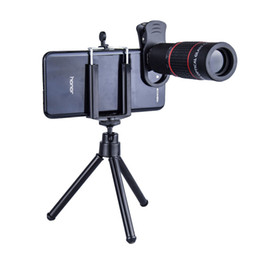 18x zoom camera Australia - Mobile Phone Camera Lens Kit Universal 18X telescope Clip-On Telephoto Telescope Camera Smart Phone Zoom lens