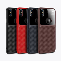 cell phone mirror cover NZ - For Iphone XS max XR X 6S 7 8 PLUS mirror cell phone case soft TPU silicone protective cover for Samsung Galaxy S9 plus note 9 new