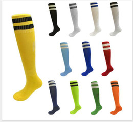 Adults Leggings Wholesale Australia - Football socks stockings adult leggings sports socks over the knee towel bottom soccer socks