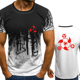 Naruto Prints Shirts Australia - New fashion O-neck summer Anime Naruto Print men's casual fashion trend short-sleeved T-shirt hip-hop T-shirt shirt