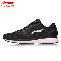 textile shoes Australia - 2018new Women SPEED STAR Cushion Running Shoes Textile Breathable Sneakers EVA Light LiNing Sports Shoes ARHM032