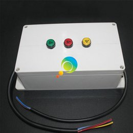 mini controllore semaforico a led giallo verde di piccole dimensioni