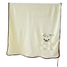 $enCountryForm.capitalKeyWord Australia - cartoon Shiba Inu dog folded plush blanket office rest air conditioning coral velvet baby sweet stuffed gift H99F