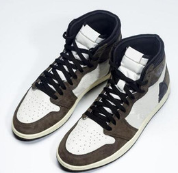 d6732abf5f5b 1 High OG Travis Scotts x Cactus Jack Suede Dark Mocha TS SP 3M Basketball  Shoes Men Women 1s Sneakers With Box