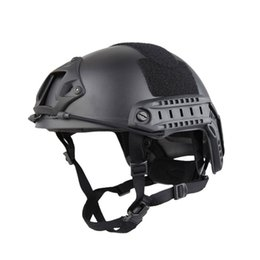 Army tActicAl helmet online shopping - Outdoor Mask Protective Full Face Fencing Steel Mesh Mask Fast Tactical Helmet MH a Non Porous Outdoor Army Fans Field
