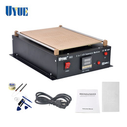 lcd separator machine samsung Australia - UYUE 968 14inch Build-in Dual Vacuum Pump LCD Separator Split Screen Repair Machine for iPad for Samsung Tablet PC