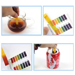 aquarium water tester Australia - 80 Strips PH Meters Indicator Paper PH Alkaline Acid Litmus Testing Paper Tester For Water Aquarium