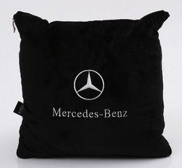Опт Автомобильная подушка сиденья спинки одеяло комфорт Mercedes-Benz подушка логотип