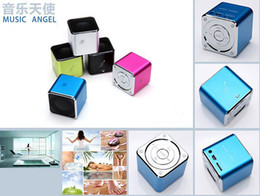 micro sd card for mp3 player UK - Mini Music Angel Digital Speaker for PC Support USB Micro SD TF Card FM MP3 MD07U