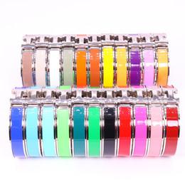 HB venda quente de aço Inoxidável H carta de moda jóias pulseira tem três cores escolher em Promoção