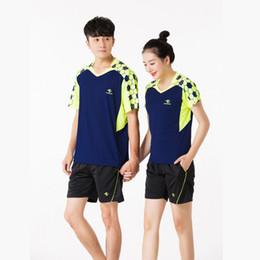 $enCountryForm.capitalKeyWord Australia - Adsmoney Parent-child suit short sleeve round neck tennis suit breathable and quick dry badminton T-shirt + shorts