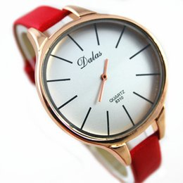 $enCountryForm.capitalKeyWord NZ - Women watches Gold Fashion Ladies Dress Wrist Watches Casual Simple dial back special design Top Luxury Leather Quartz watch Wholesale