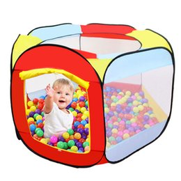 $enCountryForm.capitalKeyWord Australia - Children's Tent Toys Small Playhouses For Kids Ball Pool Children's House Pool With Ball Pit Child Small House Outdoor Game Tent
