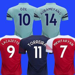 58668ae3cd9 Ramsey socceR jeRsey online shopping - 18 LACAZETTE AUBAMEYANG soccer jersey  MKHITARYAN football shirt Walcott Camiseta