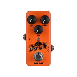 Digital Pedal Australia - NUX NDD-2 Konsequent Digital Delay Guitar Effect Pedal 800ms Delay Range Tap Tempo Function Full Metal Shell True Bypass Parts