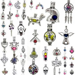 Pendant Designs For Gems Australia - 780 Designs for your choose - Locket Cages Love Wish Pearl  Gem beads oyster Pearl Mountings - Pearl Cage - WITHOUT Akoya Oyster