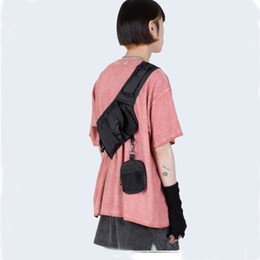 $enCountryForm.capitalKeyWord Australia - Men Chest Bag Chest Ring Packs Canvas Tactical Bag Male Fanny Pack Hip Hop Street style Waist Pack 030279