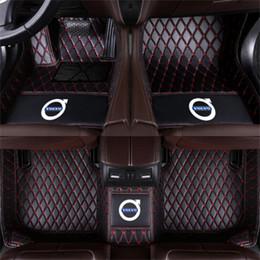 Vente en gros Applicable à Volvo S90 2016-2017 luxe voiture entouré de tapis de couture de tapis résistant à l'usure
