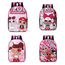 Canvas storage kids online shopping - Baby Girls Surprise Backpack Cartoon Kindergarden Kids Student School Bag Book Bags Child Travel Shoulder Bag Rucksack Storage Bags B71803